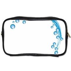 Water Swirl Travel Toiletry Bag (one Side)
