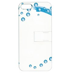 Water Swirl Apple Iphone 5 Hardshell Case With Stand by magann