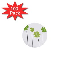 Clover 1  Mini Button (100 Pack) by magann