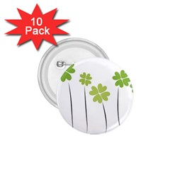 Clover 1 75  Button (10 Pack) by magann