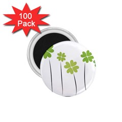 Clover 1 75  Button Magnet (100 Pack)