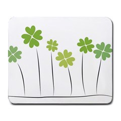 Clover Large Mouse Pad (rectangle) by magann
