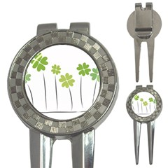 Clover Golf Pitchfork & Ball Marker by magann