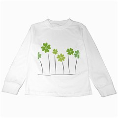 Clover Kids Long Sleeve T Shirt