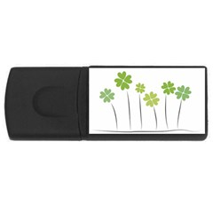 Clover 4gb Usb Flash Drive (rectangle) by magann
