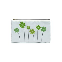 Clover Cosmetic Bag (small) by magann