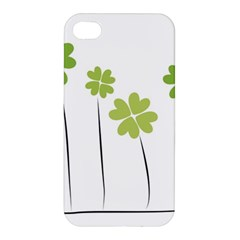 Clover Apple Iphone 4/4s Hardshell Case by magann