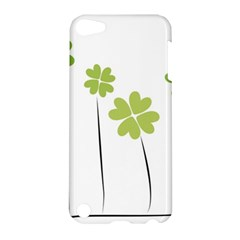 Clover Apple Ipod Touch 5 Hardshell Case by magann