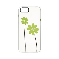 Clover Apple Iphone 5 Classic Hardshell Case (pc+silicone) by magann