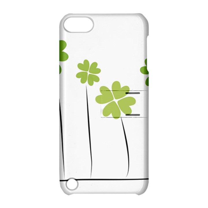 clover Apple iPod Touch 5 Hardshell Case with Stand
