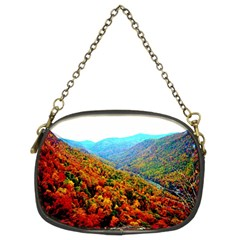 Through The Mountains Chain Purse (two Side) by Majesticmountain
