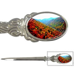 Through The Mountains Letter Opener by Majesticmountain