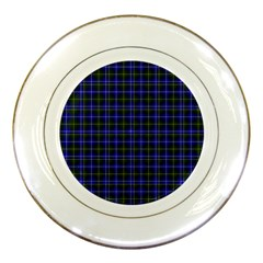 Macneil Tartan   1 Porcelain Display Plate by BestCustomGiftsForYou