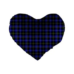 Macneil Tartan   1 16  Premium Heart Shape Cushion  by BestCustomGiftsForYou