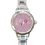 dance watch - Round Italian Charm Watch