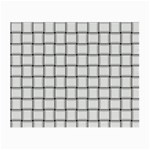 White Weave Glasses Cloth (Small, Two Sided) Front