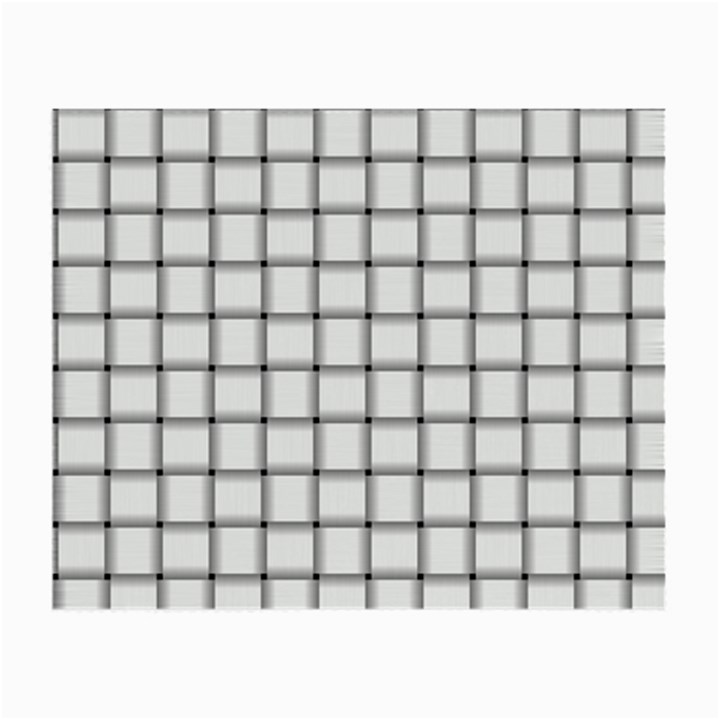 White Weave Glasses Cloth (Small, Two Sided)