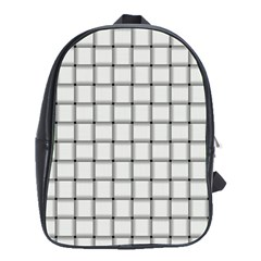 White Weave School Bag (large)