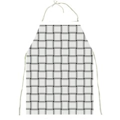 White Weave Apron by BestCustomGiftsForYou