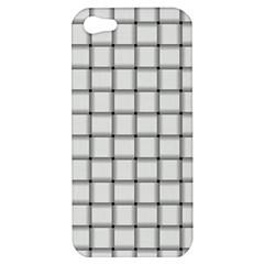White Weave Apple Iphone 5 Hardshell Case