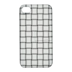 White Weave Apple Iphone 4/4s Hardshell Case With Stand by BestCustomGiftsForYou