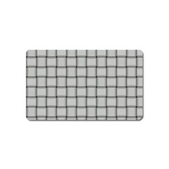 Gray Weave Magnet (name Card) by BestCustomGiftsForYou