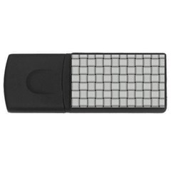 Gray Weave 4gb Usb Flash Drive (rectangle)