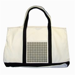 Gray Weave Two Toned Tote Bag by BestCustomGiftsForYou