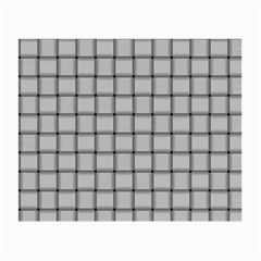 Gray Weave Glasses Cloth (small, Two Sided) by BestCustomGiftsForYou