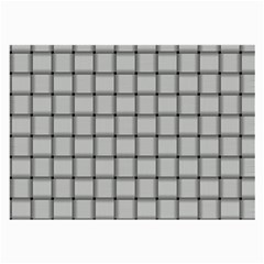 Gray Weave Glasses Cloth (large, Two Sided) by BestCustomGiftsForYou