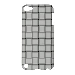 Gray Weave Apple Ipod Touch 5 Hardshell Case by BestCustomGiftsForYou