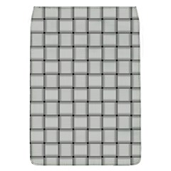 Gray Weave Removable Flap Cover (large) by BestCustomGiftsForYou
