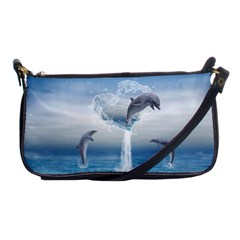 The Heart Of The Dolphins Evening Bag by gatterwe