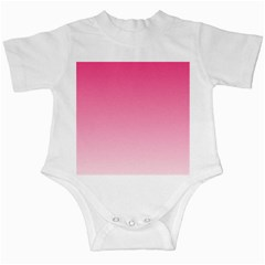 French Rose To Piggy Pink Gradient Infant Creeper by BestCustomGiftsForYou
