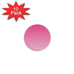 French Rose To Piggy Pink Gradient 1  Mini Button (10 Pack)