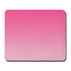 French Rose To Piggy Pink Gradient Large Mouse Pad (rectangle) by BestCustomGiftsForYou