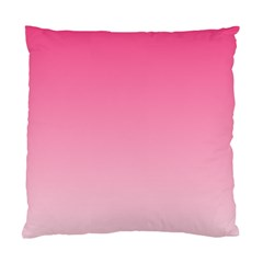 French Rose To Piggy Pink Gradient Cushion Case (one Side) by BestCustomGiftsForYou