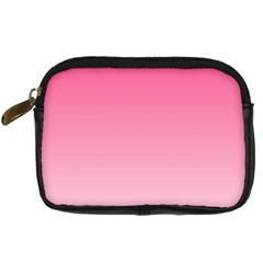 French Rose To Piggy Pink Gradient Digital Camera Leather Case
