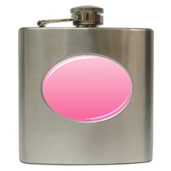 Piggy Pink To French Rose Gradient Hip Flask by BestCustomGiftsForYou