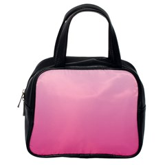 Piggy Pink To French Rose Gradient Classic Handbag (one Side) by BestCustomGiftsForYou