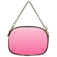 Piggy Pink To French Rose Gradient Chain Purse (one Side)