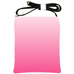 Piggy Pink To French Rose Gradient Shoulder Sling Bag by BestCustomGiftsForYou