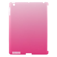 Piggy Pink To French Rose Gradient Apple Ipad 3/4 Hardshell Case (compatible With Smart Cover) by BestCustomGiftsForYou