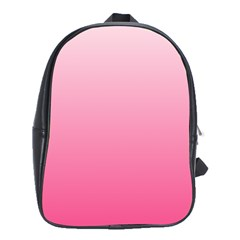 Piggy Pink To French Rose Gradient School Bag (xl)