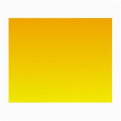 Chrome Yellow To Yellow Gradient Glasses Cloth (small) by BestCustomGiftsForYou