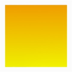 Chrome Yellow To Yellow Gradient Glasses Cloth (medium, Two Sided)