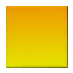 Chrome Yellow To Yellow Gradient Face Towel