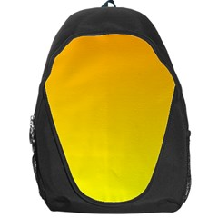 Chrome Yellow To Yellow Gradient Backpack Bag