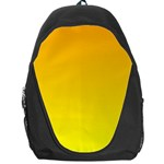 Chrome Yellow To Yellow Gradient Backpack Bag Front