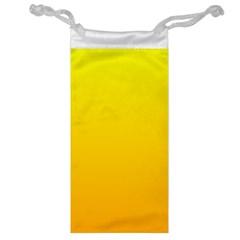 Yellow To Chrome Yellow Gradient Jewelry Bag